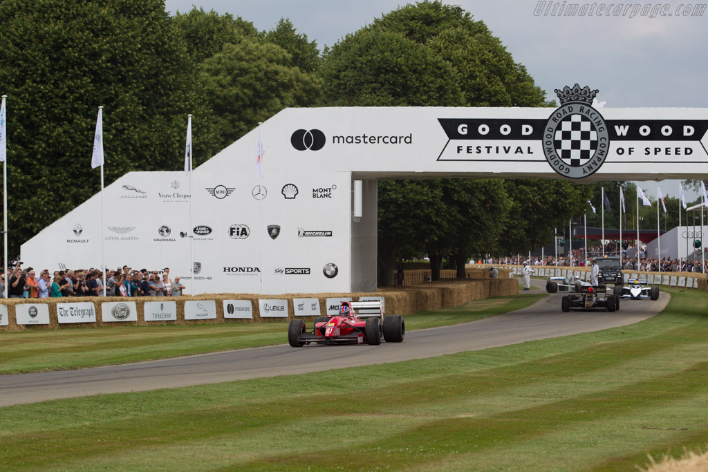 Dallara F192 Ferrari - Chassis: 026 - Driver: Mike Dewhirst  - 2017 Goodwood Festival of Speed