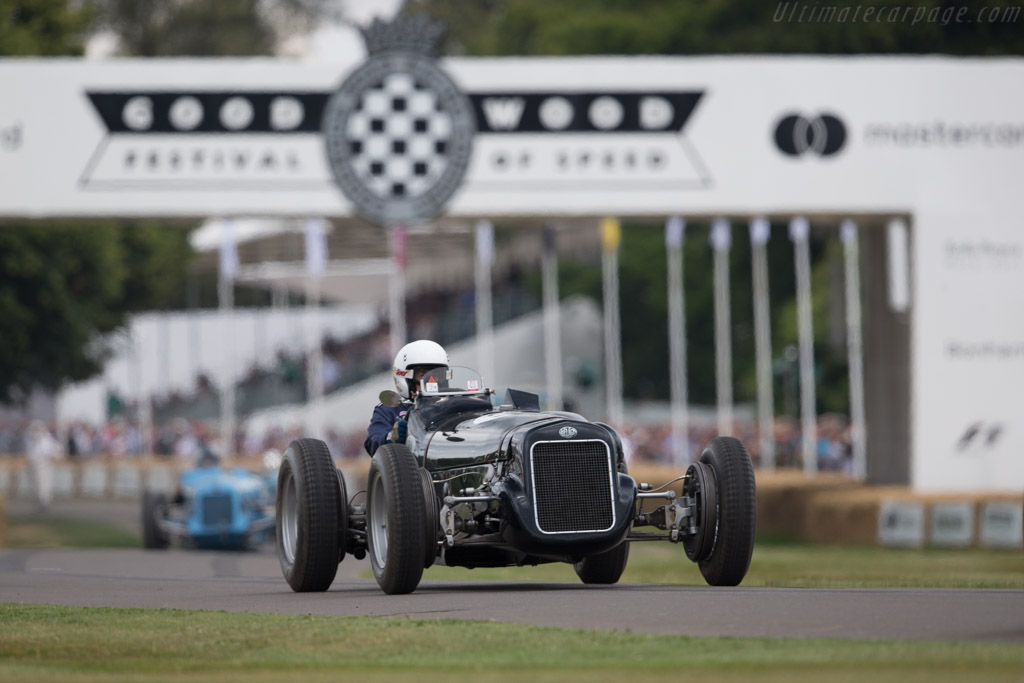 Delage 15 S8 - Chassis: D3 - Entrant: Peter Mullin - Driver: Jim Stranberg  - 2017 Goodwood Festival of Speed