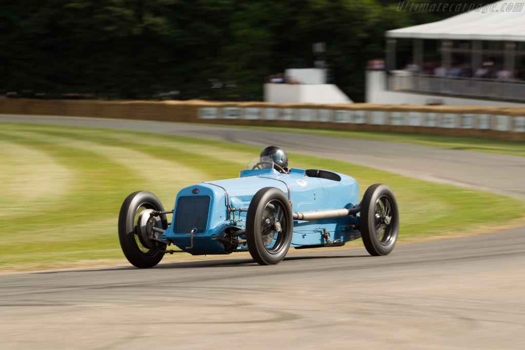 Delage 15 S8 - Chassis: 21642 - Entrant: Collier Automotive Museum - Driver: Eddie Berrisford  - 2017 Goodwood Festival of Speed