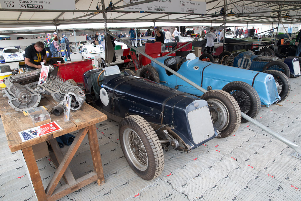 Delage 15 S8  - Entrant: Brooklands Museum Trust  - 2017 Goodwood Festival of Speed