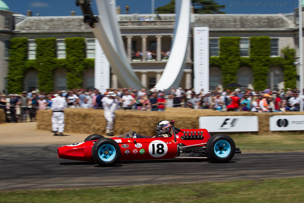 Ferrari 1512 F1 - Chassis: 0008 - Entrant: Larry Auriana - Driver: Joe Colasacco  - 2017 Goodwood Festival of Speed
