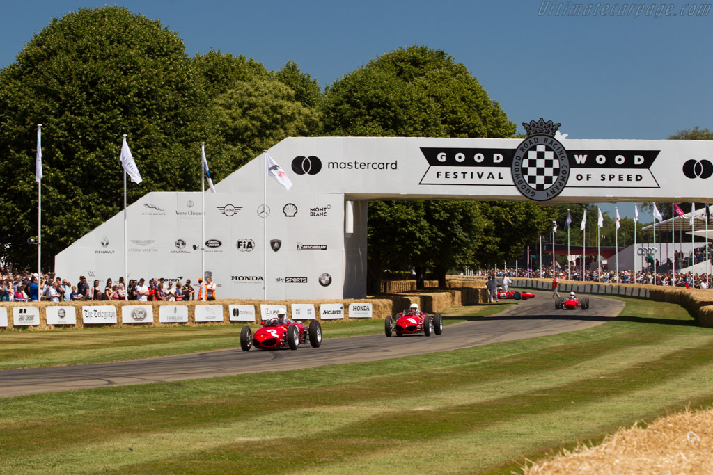 Ferrari 156 Dino F1  - Entrant: Jason Wright - Driver: Derek Hill  - 2017 Goodwood Festival of Speed