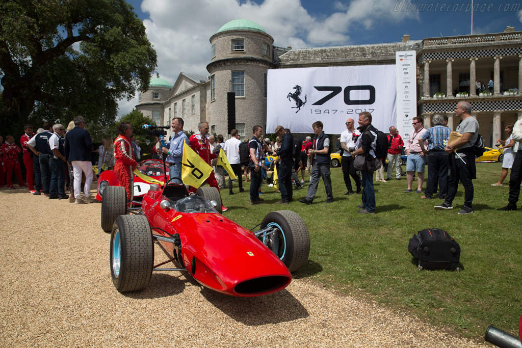 Ferrari 158 F1 - Chassis: 0006 - Entrant: Barber Vintage Motorsports Museum  - 2017 Goodwood Festival of Speed