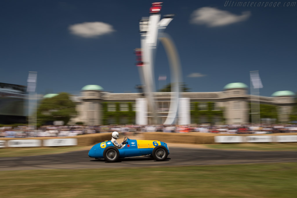 Ferrari 166 FL - Chassis: 011F - Driver: Max Viessmann  - 2017 Goodwood Festival of Speed