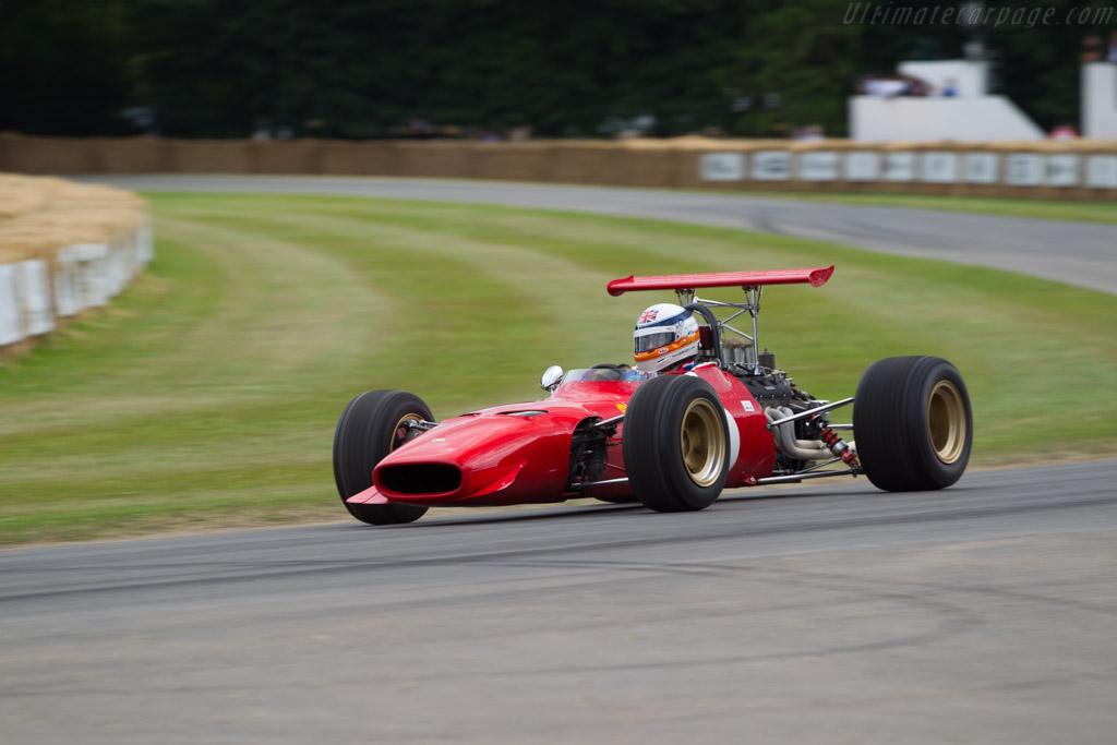 Ferrari 246 Dino - Chassis: 0010 - Entrant: TK Mak - Driver: Derek Bell  - 2017 Goodwood Festival of Speed