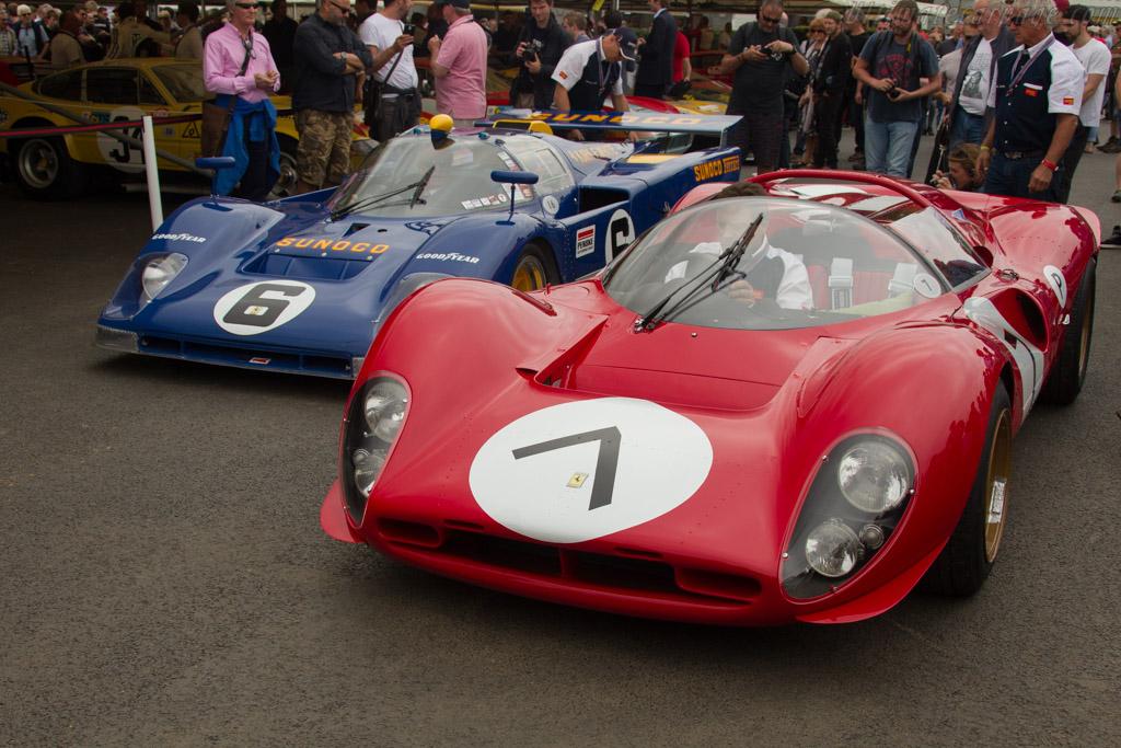 Ferrari 330 P4 - Chassis: 0856 - Entrant: Lawrence Stroll  - 2017 Goodwood Festival of Speed