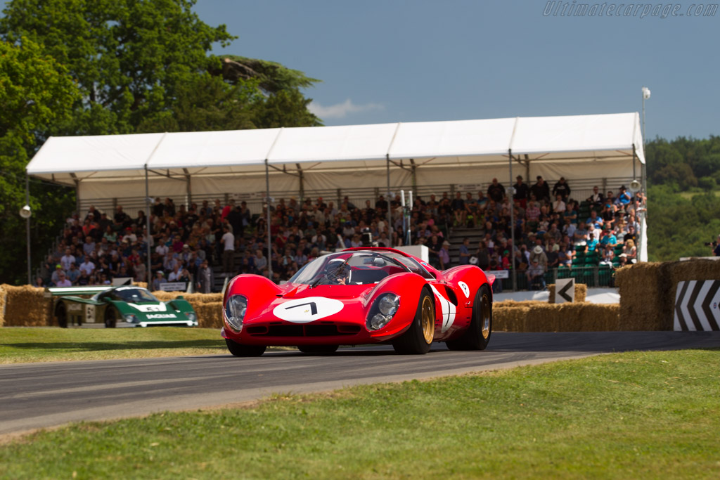 Ferrari 330 P4 - Chassis: 0856 - Entrant: Lawrence Stroll - Driver: Jackie Stewart  - 2017 Goodwood Festival of Speed