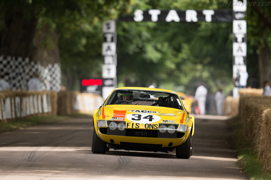 Ferrari 365 GTB/4 Daytona Competizione S3 - Chassis: 16425 - Driver: James Cottingham  - 2017 Goodwood Festival of Speed