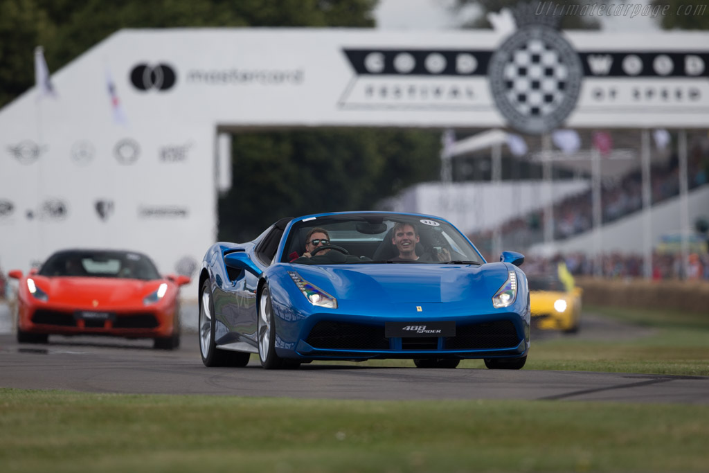 Ferrari 488 Spider - Chassis: 224291   - 2017 Goodwood Festival of Speed