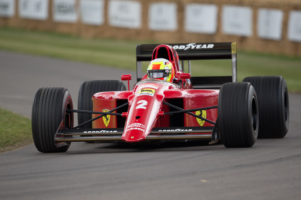 Ferrari 641 F1 - Chassis: 120 - Entrant: TK Mak - Driver: Olivier Beretta  - 2017 Goodwood Festival of Speed