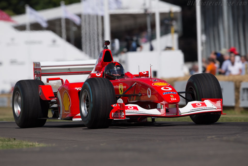 Ferrari F2002 - Chassis: 224 - Driver: Henrik Lindberg  - 2017 Goodwood Festival of Speed