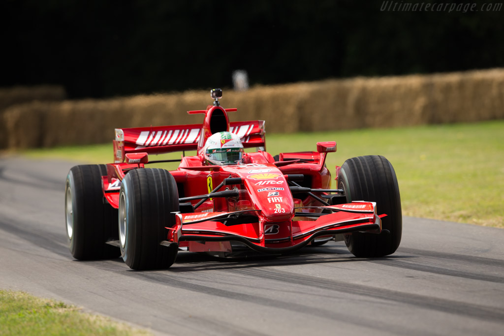 Ferrari F2007 - Chassis: 263 - Entrant: Scuderia Ferrari - Driver: Davide Rigon  - 2017 Goodwood Festival of Speed
