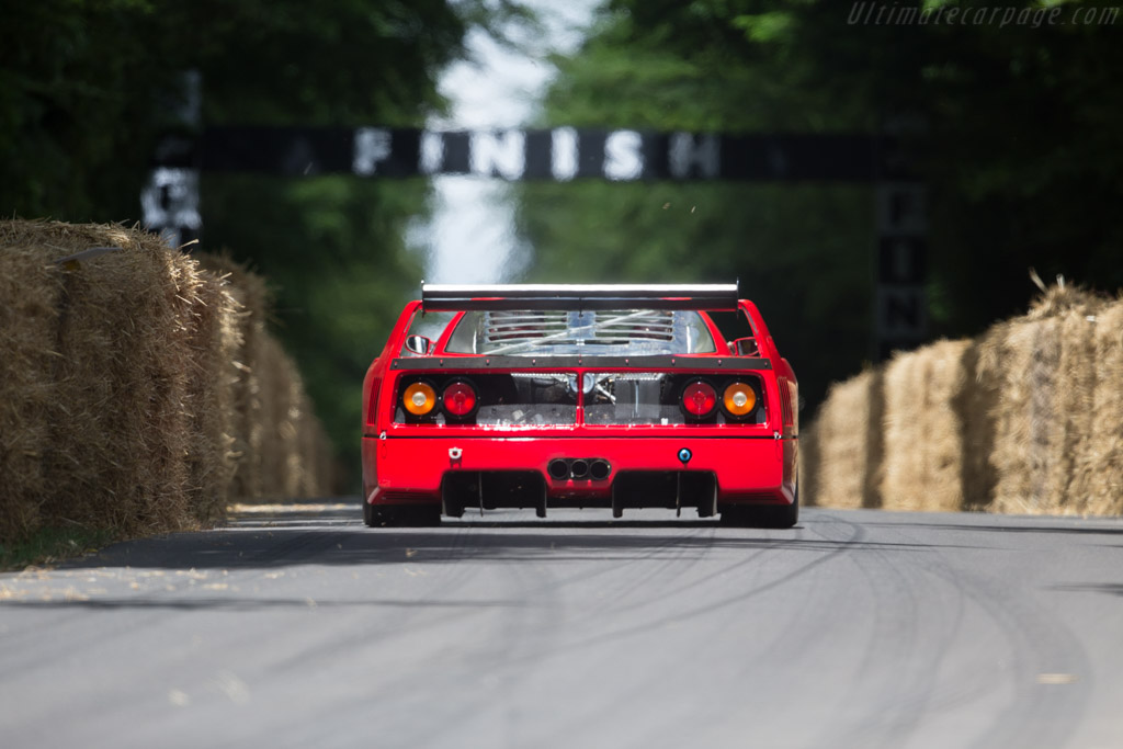 Ferrari F40 LM - Chassis: 97893 - Driver: Christopher Wilson  - 2017 Goodwood Festival of Speed