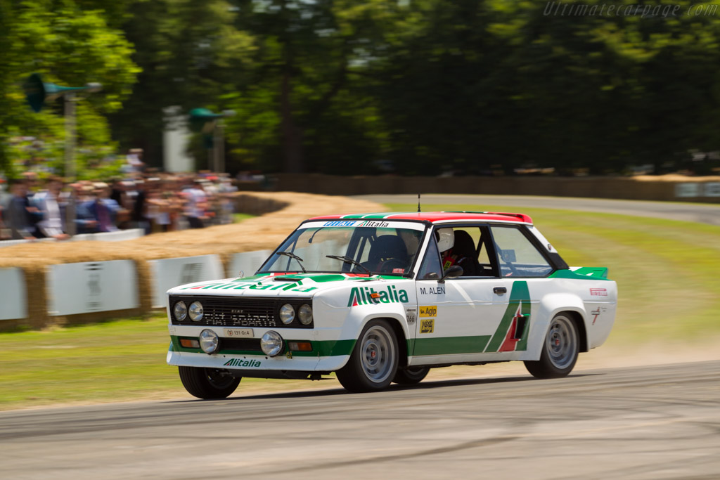 Fiat 131 Abarth - Chassis: 2038779 - Entrant: FCA Heritage - Driver: Roberto Giolito  - 2017 Goodwood Festival of Speed