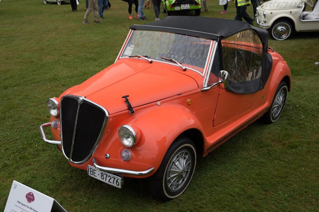 Fiat 500 Gamine  - Entrant: Heinz Burn  - 2017 Goodwood Festival of Speed