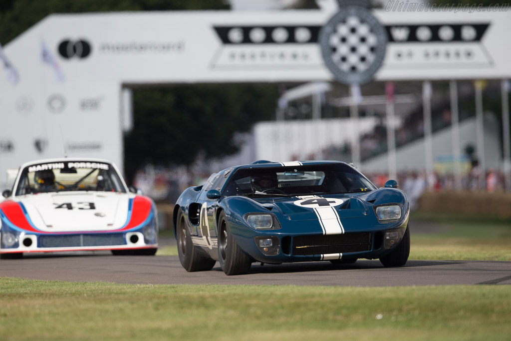 Ford GT40 - Chassis: GT40P/1055 - Entrant: Gavin Henderson - Driver: Rory Henderson  - 2017 Goodwood Festival of Speed