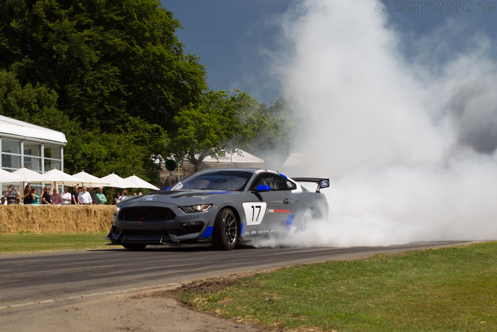 Ford Mustang GT4  - Entrant: Ford Motor Company - Driver: Billy Johnson  - 2017 Goodwood Festival of Speed