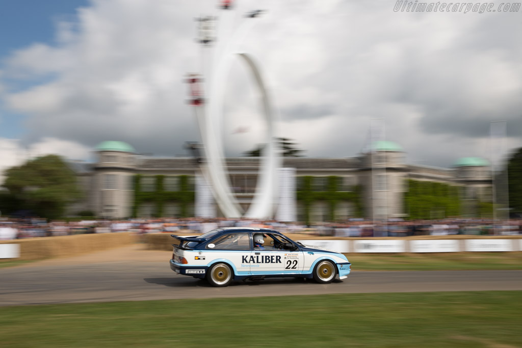 Ford Sierra Cosworth RS500  - Driver: Andrew Brass  - 2017 Goodwood Festival of Speed
