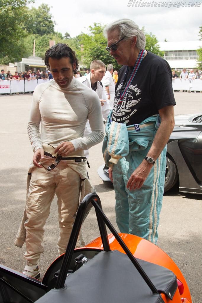 Gordon Murray and Dario Franchitti    - 2017 Goodwood Festival of Speed