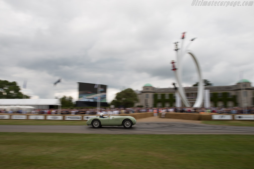 Jaguar C-Type - Chassis: XKC 005 - Entrant: Richard Frankel - Driver: Andrew Frankel  - 2017 Goodwood Festival of Speed