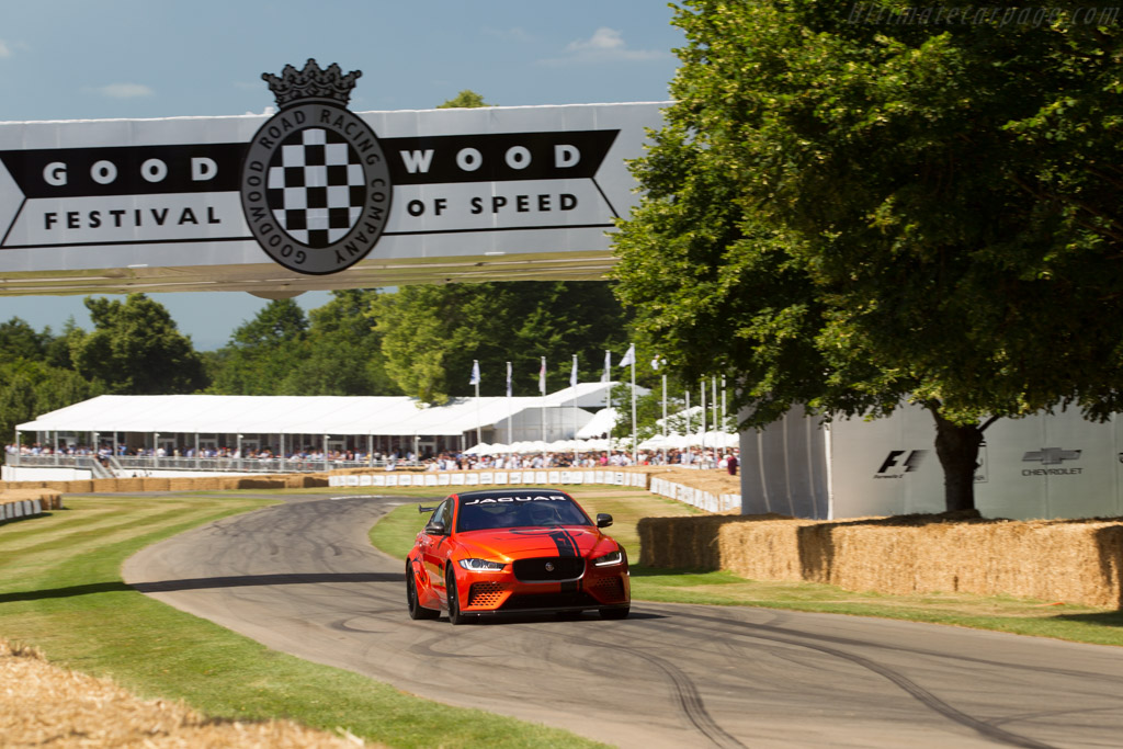 Jaguar XE SV Project 8    - 2017 Goodwood Festival of Speed