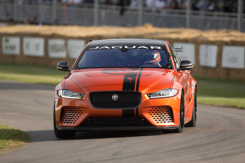 Jaguar XE SV Project 8    - 2017 Goodwood Festival of Speed