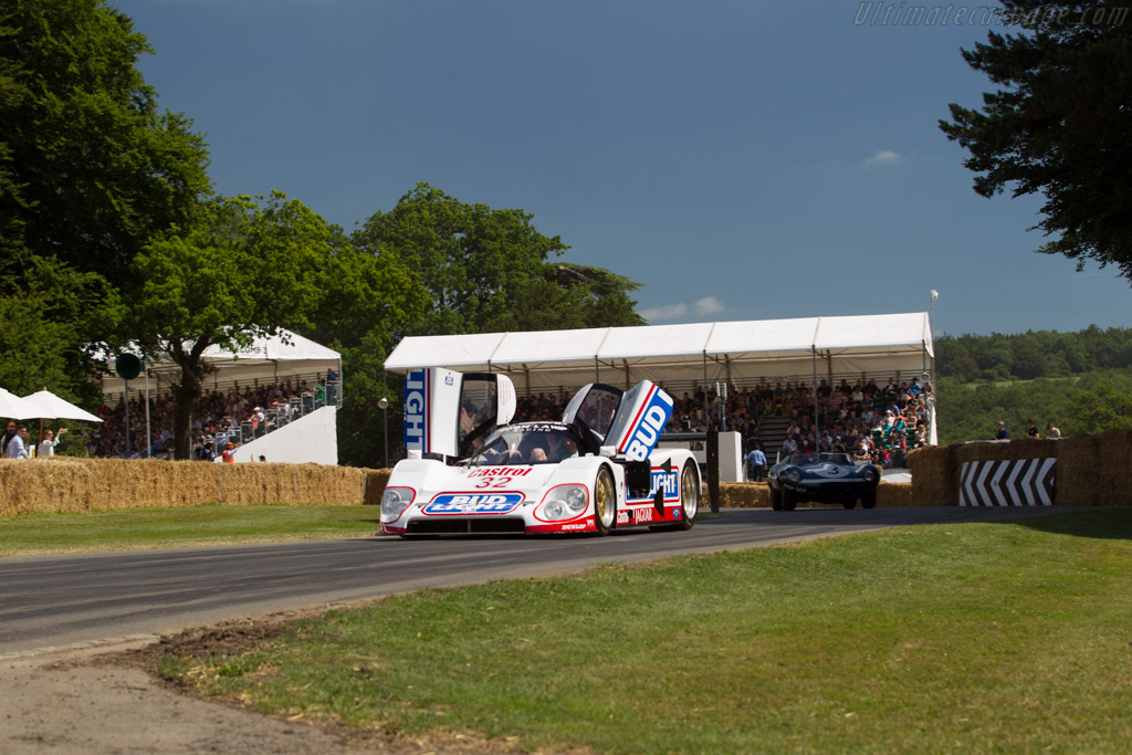 Jaguar XJR-12D - Chassis: J12-C-193 - Entrant: Don Law Racing - Driver: Justin Law  - 2017 Goodwood Festival of Speed