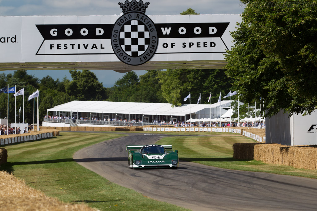 Jaguar XJR-6 - Chassis: J12-C-185 - Entrant / Driver Henry Pearman  - 2017 Goodwood Festival of Speed