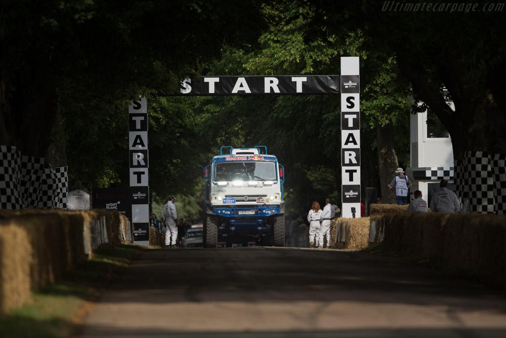 Kamaz Dakar Truck  - Entrant: Red Bull UK  - 2017 Goodwood Festival of Speed