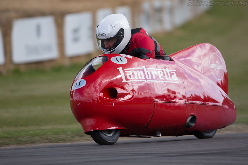 Lambretta Siluro  - Driver: Matteo Panini  - 2017 Goodwood Festival of Speed