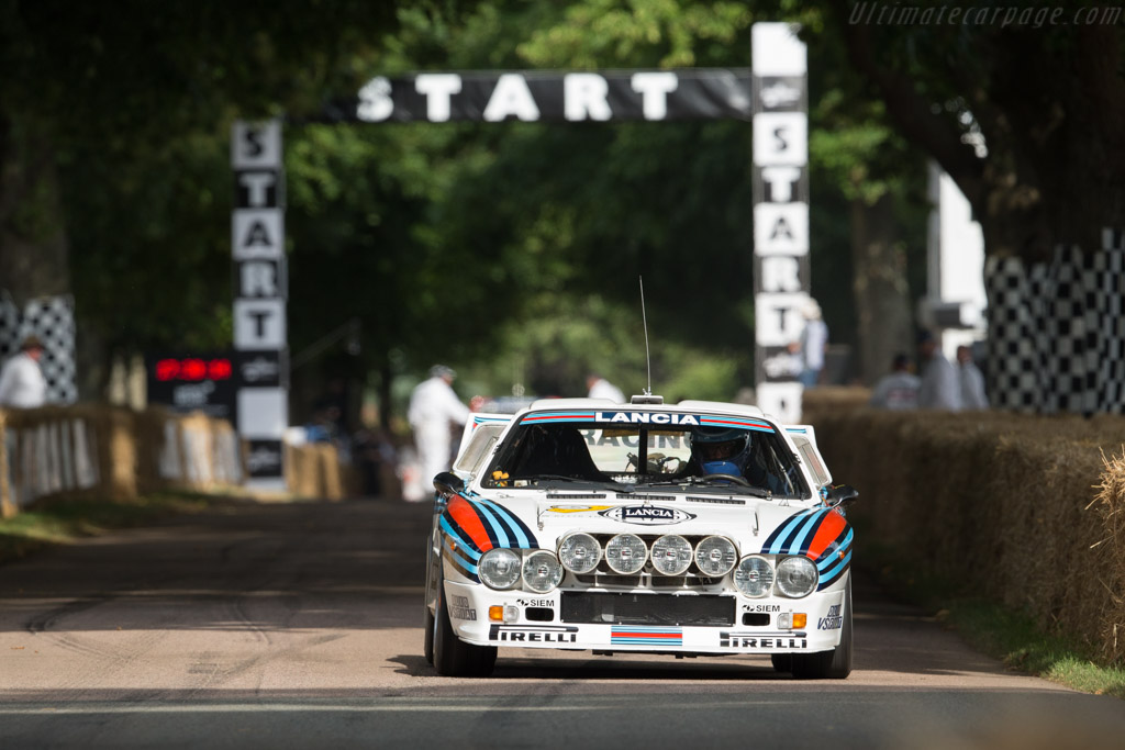 Lancia 037 - Chassis: ZLA151AR0 00000408 - Entrant / Driver Max Girardo  - 2017 Goodwood Festival of Speed