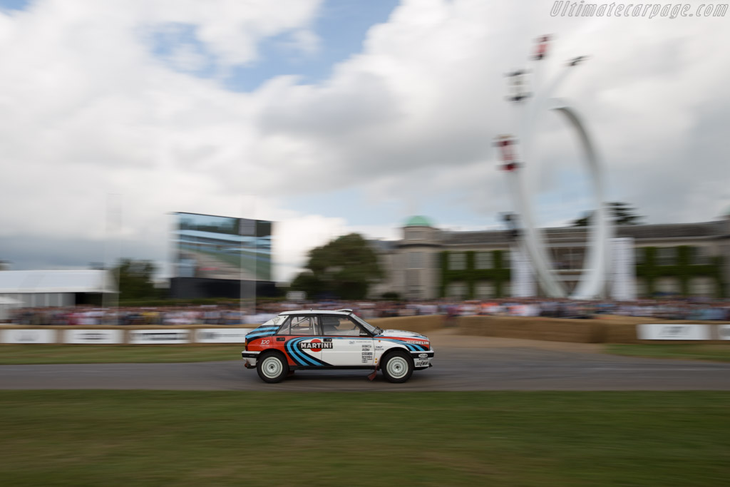 Lancia Delta Integrale EVO  - Entrant: FCA Heritage - Driver: Gianfranco Gentile  - 2017 Goodwood Festival of Speed