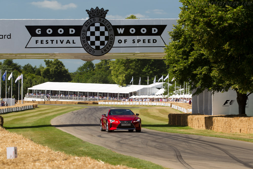 Lexus LC 500    - 2017 Goodwood Festival of Speed