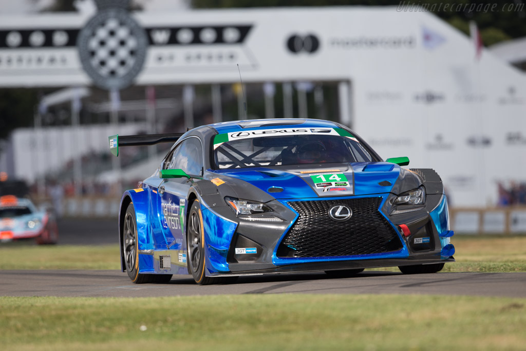 Lexus RC-F GT3  - Entrant: Toyota Motorsport  - 2017 Goodwood Festival of Speed
