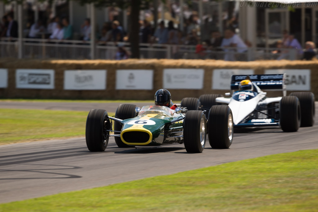 Lotus 49 Cosworth - Chassis: R3 - Entrant: National Motor Museum - Driver: Ken Pritschard Jones  - 2017 Goodwood Festival of Speed