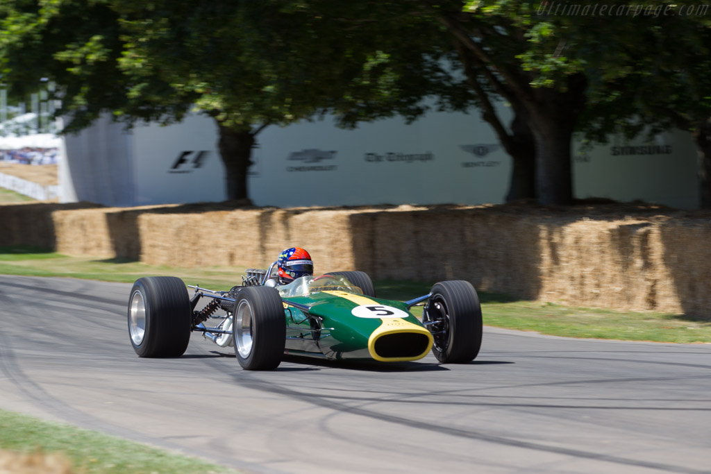 Lotus 49 Cosworth - Chassis: R2 - Entrant: Chris MacAllister - Driver: Emerson Fittipaldi  - 2017 Goodwood Festival of Speed