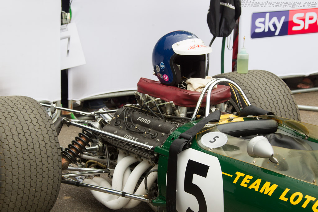 Lotus 49 Cosworth - Chassis: R2 - Entrant: Chris MacAllister  - 2017 Goodwood Festival of Speed