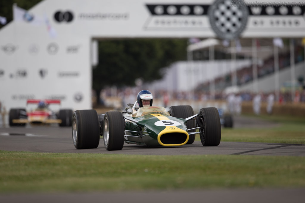 Lotus 49 Cosworth - Chassis: R2 - Entrant / Driver Chris MacAllister  - 2017 Goodwood Festival of Speed