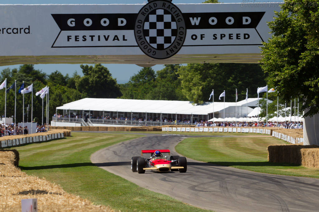Lotus 49B Cosworth - Chassis: R8 - Entrant / Driver Adrian Newey  - 2017 Goodwood Festival of Speed