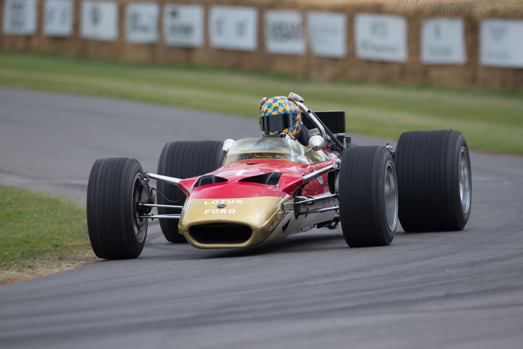 Lotus 49B Cosworth - Chassis: R10 - Entrant: Clive Chapman - Driver: Dan Collins  - 2017 Goodwood Festival of Speed