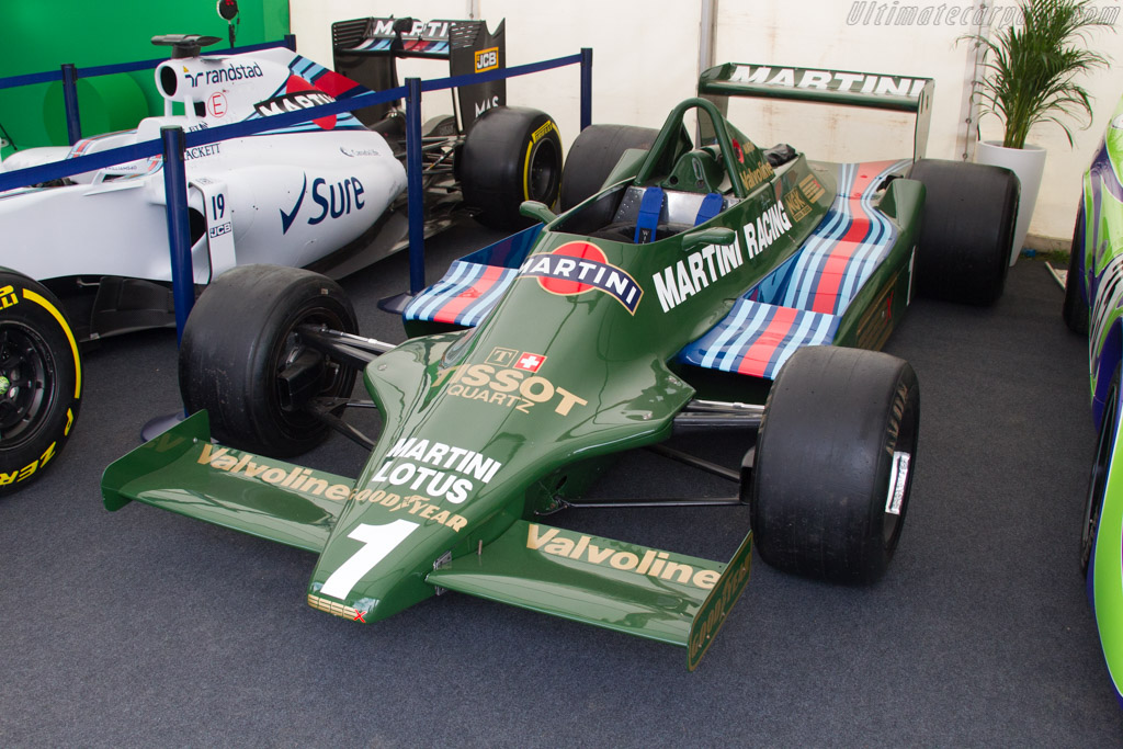 Lotus 79 - Chassis: 79/5 - Entrant: David Clark  - 2017 Goodwood Festival of Speed