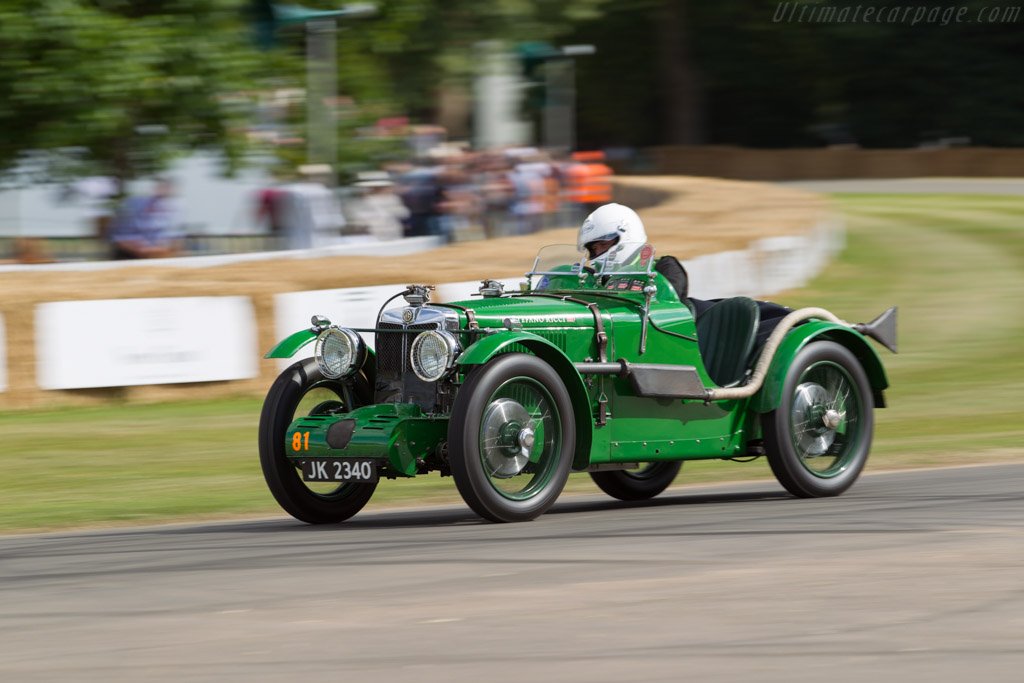 MG C-Type  - Entrant / Driver Gary Ford  - 2017 Goodwood Festival of Speed