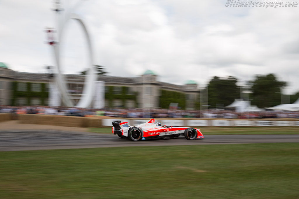 Mahindra M4Electro  - Driver: Nick Heidfeld  - 2017 Goodwood Festival of Speed