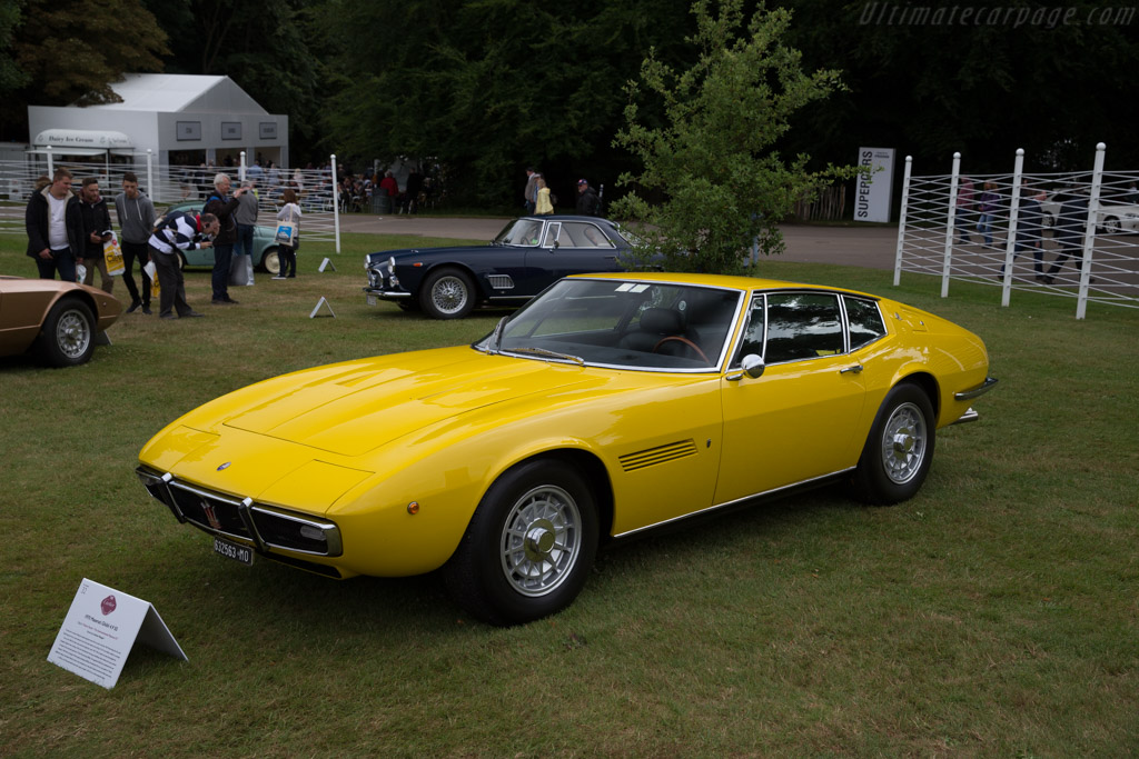 Maserati Ghibli 4.9 SS  - Entrant: Andrea Malagoli  - 2017 Goodwood Festival of Speed