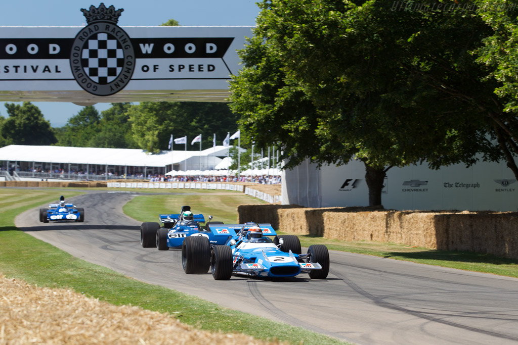 Matra MS80 - Chassis: MS80/02 - Entrant: Bruno Fabre - Driver: Jackie Stewart  - 2017 Goodwood Festival of Speed