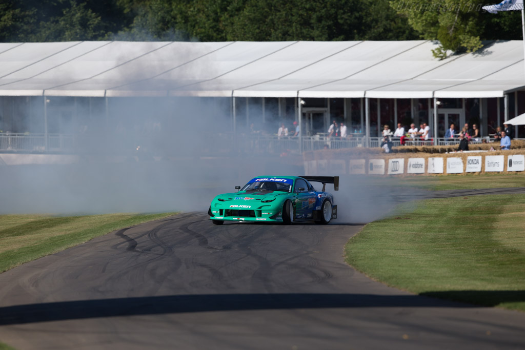 Mazda RX-7  - Entrant / Driver James Deane  - 2017 Goodwood Festival of Speed
