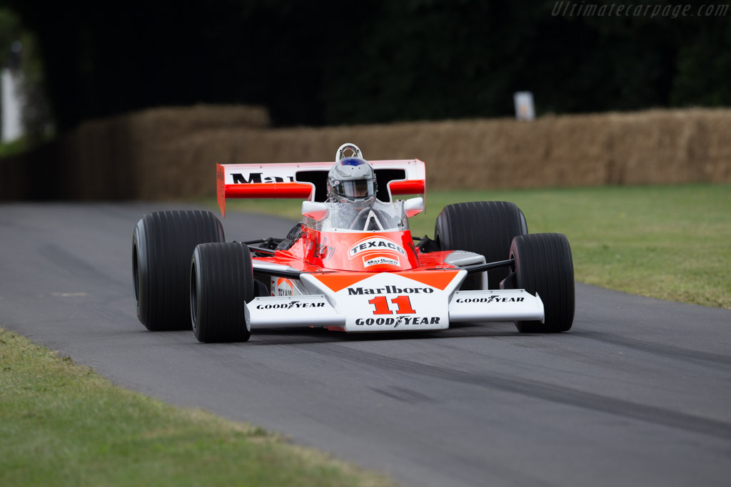 McLaren M23 - Chassis: M23-6 - Entrant: Hall & Hall - Driver: Andrea Burani  - 2017 Goodwood Festival of Speed