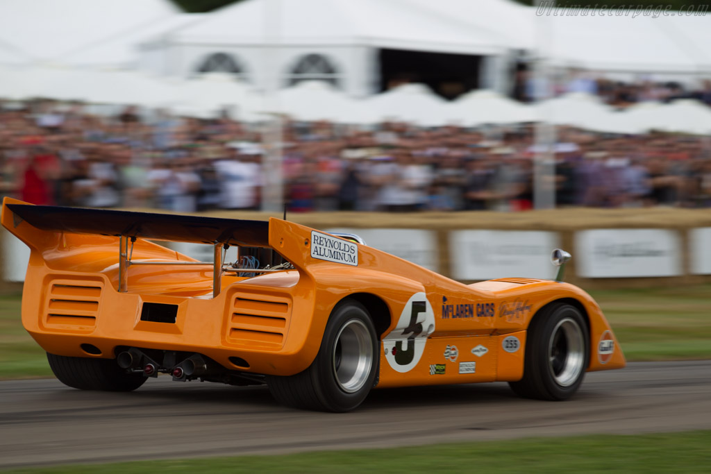 McLaren M8D - Chassis: M8D/1 - Entrant: McLaren Racing - Driver: Nyck de Vries/Nobuharu Matsushita/Oliver Turvey  - 2017 Goodwood Festival of Speed