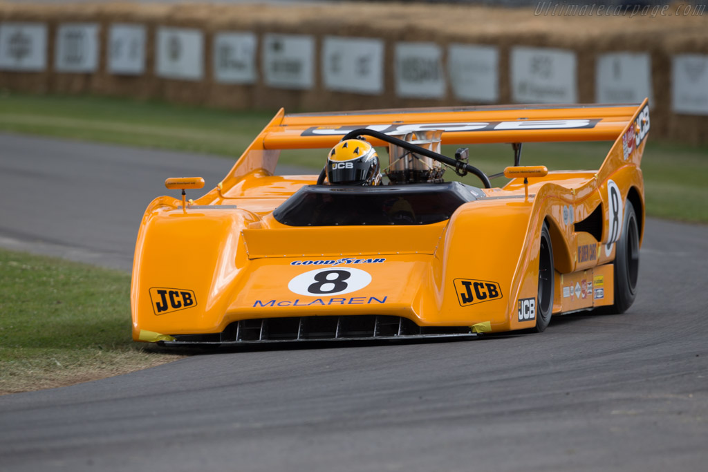 McLaren M8FP - Chassis: 09-72 - Entrant: Anthony Bamford - Driver: Andy Newell  - 2017 Goodwood Festival of Speed