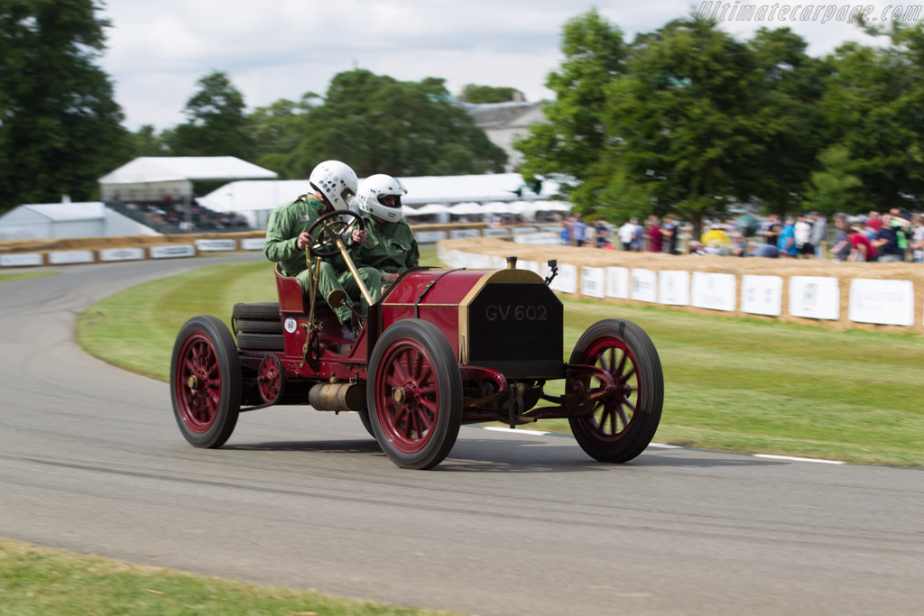Mercedes 60 HP  - Entrant / Driver Ben Collings  - 2017 Goodwood Festival of Speed